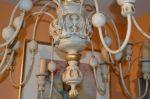 Superbe chandelier 12 feux en pin2
