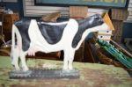 Cow door holder.