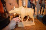 Sculpture femelle orignal - Antiquités