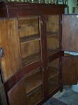 4 doors forged nails pine cupboard11