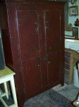 4 doors forged nails pine cupboard2