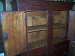 4 doors forged nails pine cupboard6
