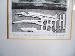Sérigraphie de Paule lamarche Goulet - Antiquités