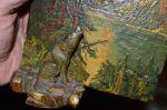 Petite peinture avec sculpture polychrome2