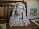 Buste en plâtre attribué à Alfred Laliberté