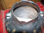 Poterie Iroquoienne fraîchement sortie d'une belle collection - Antiquités