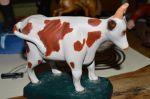 vache sculptée dans la masse