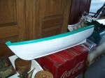 Row boat nice big size great folk art piece complete