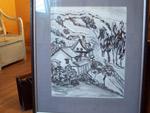 Y. Lamarche aquarelle - Antiquités