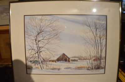 Yves Jodoin watercolor 6